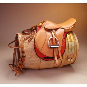 EquiRoyal Regency Close Contact Padded Flap Saddle Package