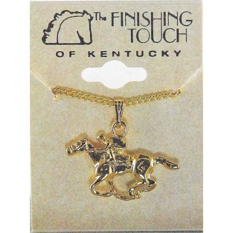 Finishing Touch Thoroughbred Necklace