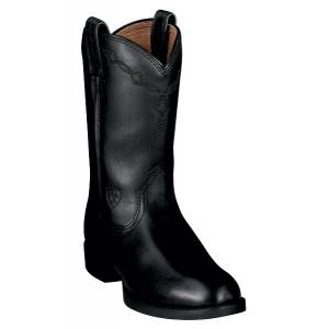 Ariat Ladies Black Heritage Roper Western Boots
