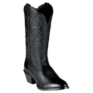Ariat Heritage Western Boots - Ladies - Black