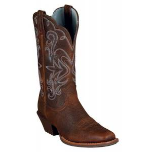 Ariat Legend Western Boot - Ladies - Brown Oiled Rowdy