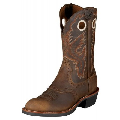 Ariat Heritage Roughstock Boots - Ladies, Antique Brown