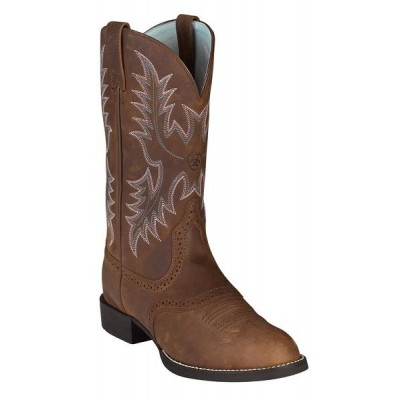 Ariat Heritage Stockman - Ladies - Driftwood Brown