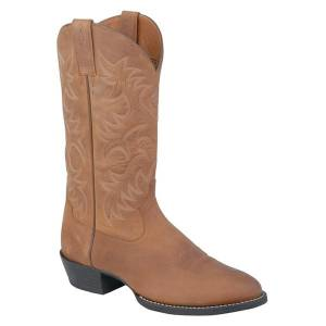 Ariat Heritage R Toe - Mens - Distressed Brown
