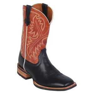 Ariat Quickdraw Western Boots - Mens - Black/Adobe