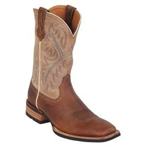 Ariat Quickdraw Boots - Tumble Bark Beige