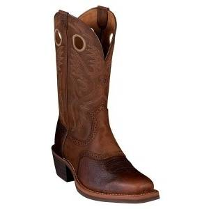 Ariat Heritage Roughtstock Western Boot - Mens - Brown Rowdy