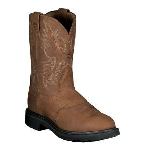 Ariat Sierra Saddle Steel Toe - Mens - Aged Bark