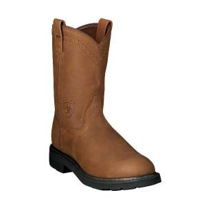 Ariat Sierra H2O Steel Toe - Mens - Aged Bark