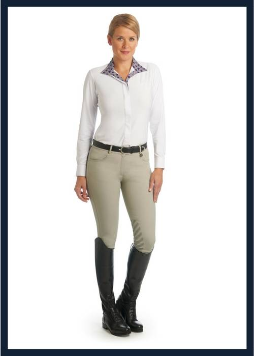 The Ovation Aqua X Knee Patch Breeches