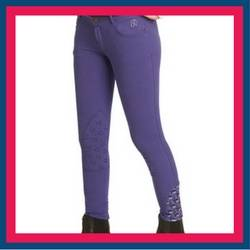 The Ovation Candace Front Zip Breech