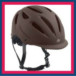 The Ovation Matte Protege Helmet