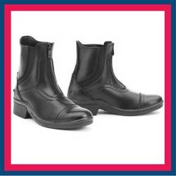 Ovation Stratum Front Zip Paddock Boots