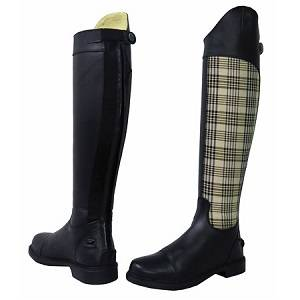 Baker Plaid Tall Boots