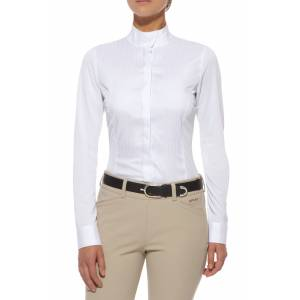 Ariat Triumph Show Shirt - Ladies, Long Sleeve, White
