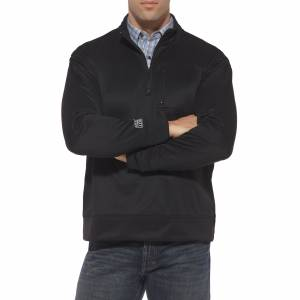Ariat Tek Fleece 1/4 Zip - Mens, Black