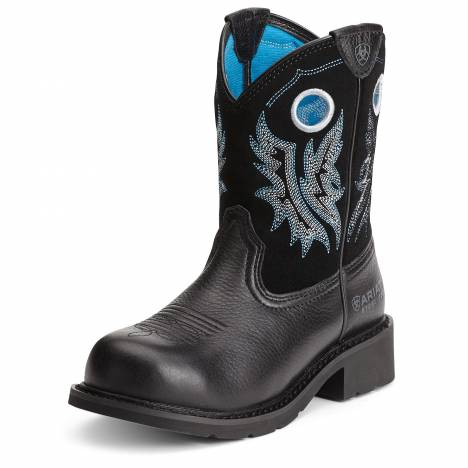 Ariat Fatbaby Steel Toe Boots - Ladies, Black