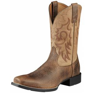 Ariat Heritage Reinsman Western Boots - Mens, Earth/Brown