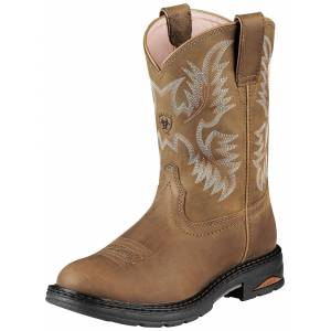 Ariat Composite Toe Tracey Work Boots - Ladies, Dusted Brown