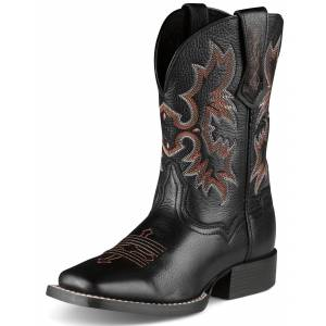 Ariat Kds Tombstone Boots - Kids, Black