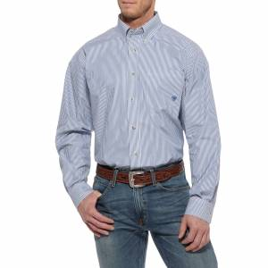 Ariat Balin Performance Shirt - Mens, Ancient Royal