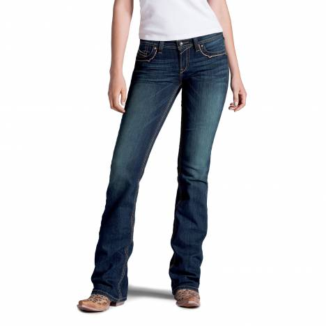 Ariat Ruby Runaway Flap Jeans - Ladies, Spitfire
