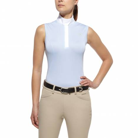 Ariat Aptos Show Top - Ladies, Sleeveless, Blue