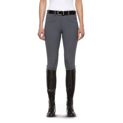 Ariat Olympia Breeches - Ladies, Knee Patch, Granite