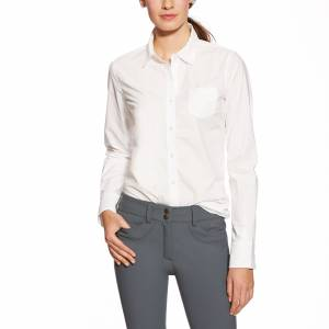 Ariat Kirby Shirt - Ladies, White