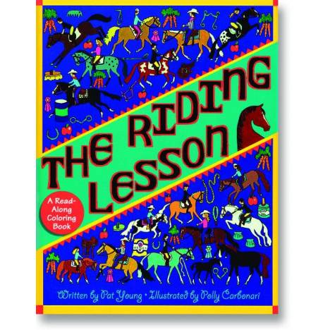 Kelley Riding Lesson Coloring Book