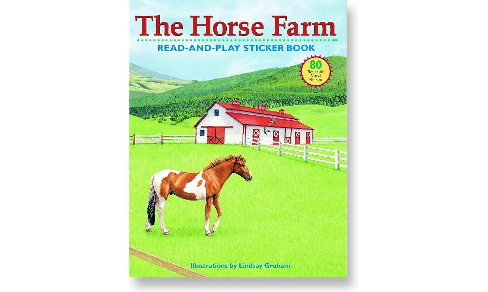Kelley Horse Farm Sticker Book Equestriancollections