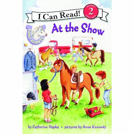 Pony Scout Kids Book - At the Show