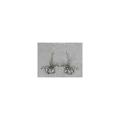 Finishing Touch Thoroughbred Earrings - Kidney Wire