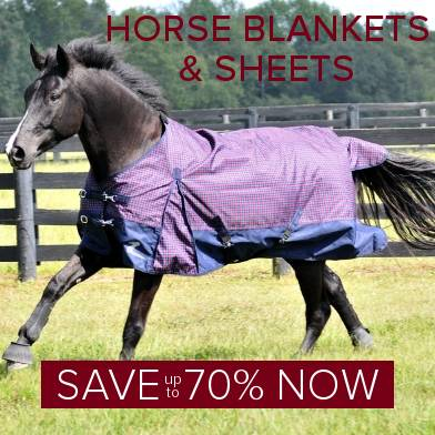 Save up to 70% on Horse Blankets
