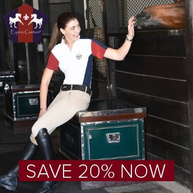Save 20% on Current Season Equine Couture & TuffRider