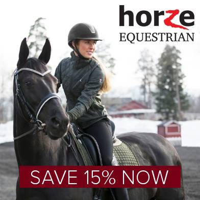 Save 15% on Horze Equestrian