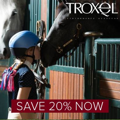 Save 20% on Troxel Riding Helmets