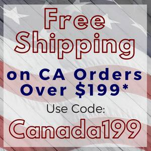 Free Canadian Shipping on Orders Over $199