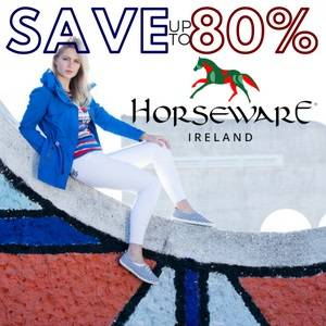 Save up to 80% on Horseware