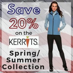 Save 20% on the Kerrits Spring/Summer Collection