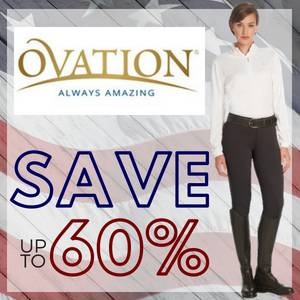 Save up to 60% on Ovation