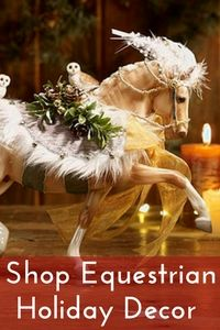 Equestrian Holiday Decor & Accessories