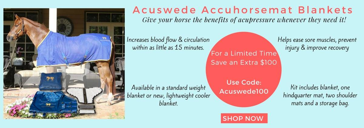 Shop Acuswede Accuhorsemat Blanket