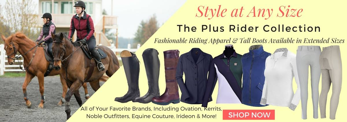 Shop the Plus Rider Collection