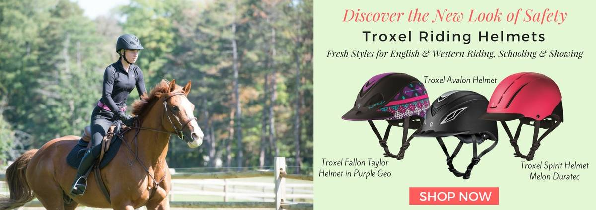 Shop Troxel Riding Helmets