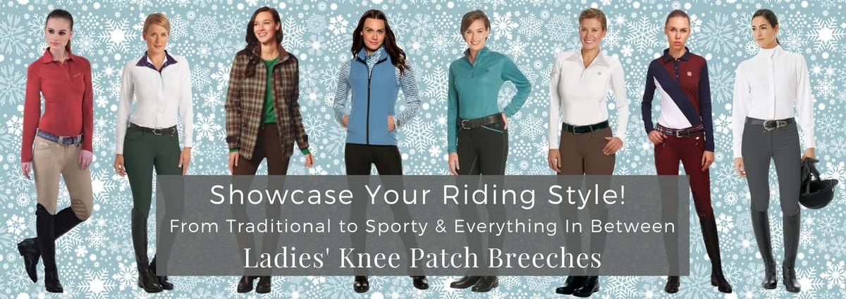 Shop Ladies' Knee Patch Breeches