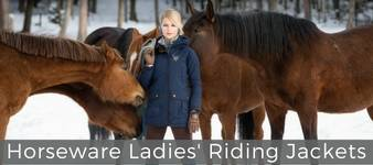 Horseware Ladies Riding Jackets Collection