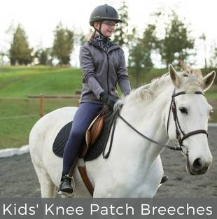 Kids' Knee Patch Breeches