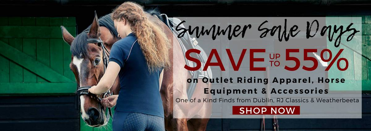 Shop the Equestrian Outlet