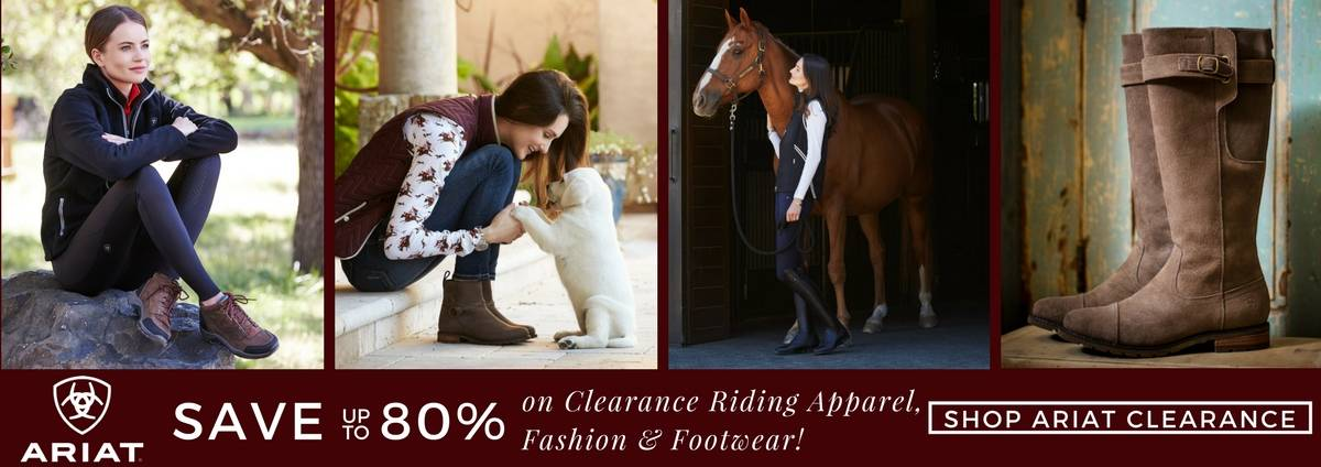 Shop the Ariat Clearance Sale